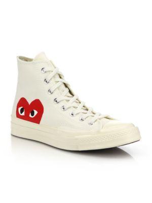 Peek-A-Boo Canvas Sneakers