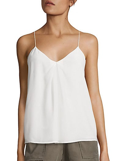Nahlah Silk Tank Top