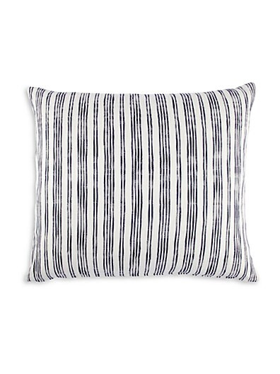 Nila Striped Cotton Pillow