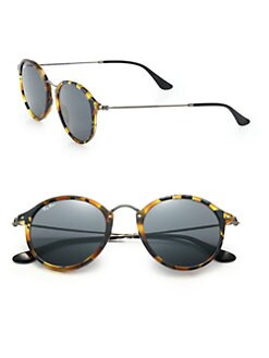 Ray-Ban - 55MM Round Sunglasses