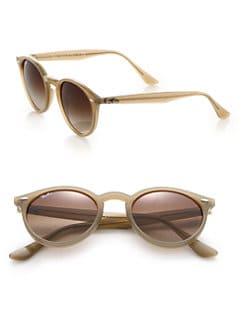 Ray-Ban - 49MM Round Sunglasses