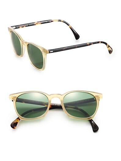 L.A. Coen Square Sunglasses