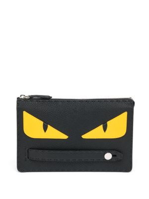 Monster Slim Leather Clutch
