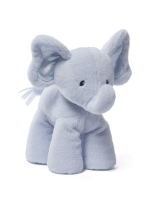"Image of Medium 10"" Bubbles Plush Elephant"