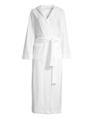 Terry Long Hooded Robe