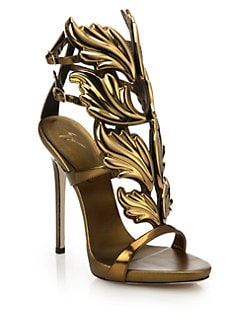 giuseppe zanotti high heels with wings