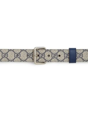 gucci male reversible leather gg supreme belt