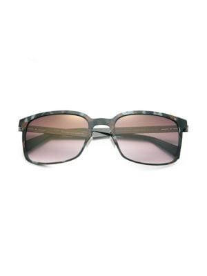 I-Metal 52MM Rectangle Sunglasses