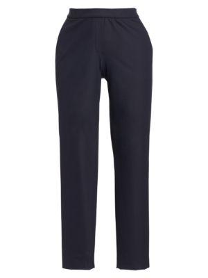 Thaniel Twill Slim-Fit Crop Pants