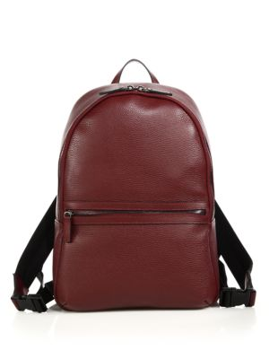 Tumbled Leather Backpack