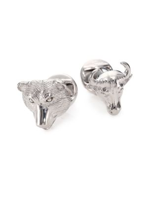 COLLECTION Bull & Bear Cuff Links
