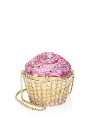 Strawberry Cupcake Crystal Clutch
