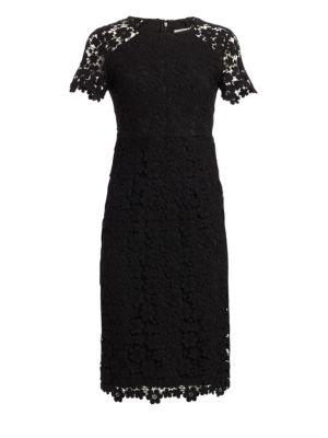 Beaux Guipure Lace Sheath Dress