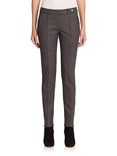 Houndstooth Tech Wool Riding Pants $478.06 AT vintagedancer.com