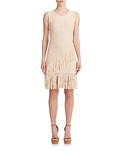Raychull Asymmetrical Fringe Dress $73.74 AT vintagedancer.com