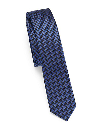 Digital Two-Tone Silk Tie $85.65 AT vintagedancer.com