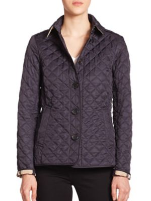Ashurst Diamond-Quilted Jacket