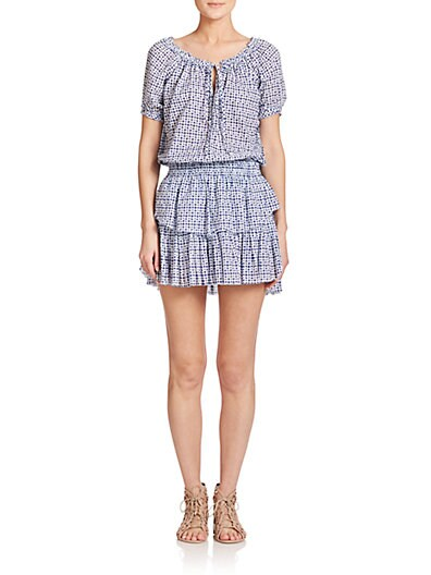 Poppy Cotton Peasant Dress