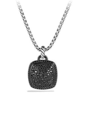 Albion Pendant with Black Diamonds