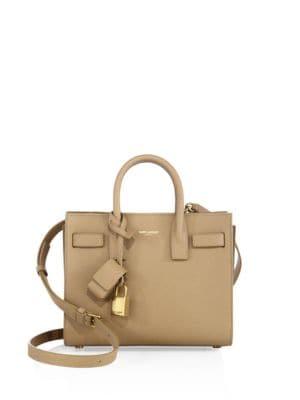 balenciaga city bag look alike - SAINT LAURENT Sac De Jour Nano Textured Leather Tote