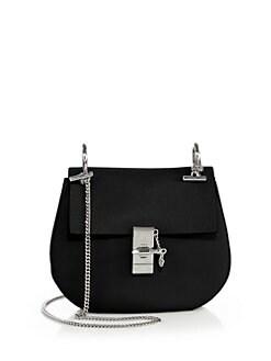 white and black chloe bags