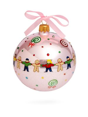 Candyland Glass Ball Ornament