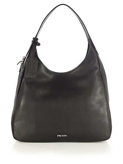 PRADA Deerskin Hobo Bag