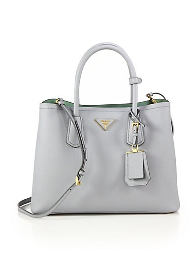 prada hang bags - prada saffiano leather shoulder bag