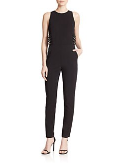 Alc Clothing Los Angeles A L C Greg Buckle Jumpsuit