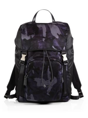 Nylon Camouflage Backpack