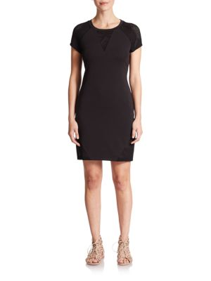 Viareggio Mesh-Panel Dress by CSBLA
