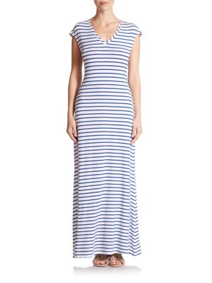Rimini Striped Maxi Dress