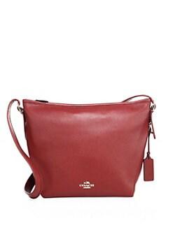 COACH - Dufflette Leather Shoulder Bag