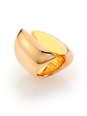 VHERNIER Eclisse 18K Rose Gold Ring