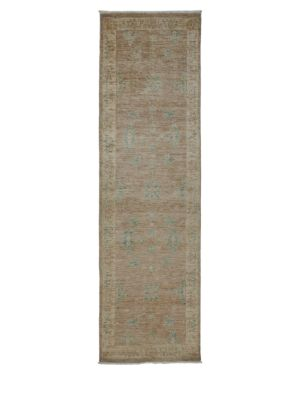 Oushak Collection Weathered Oriental Runner Rug