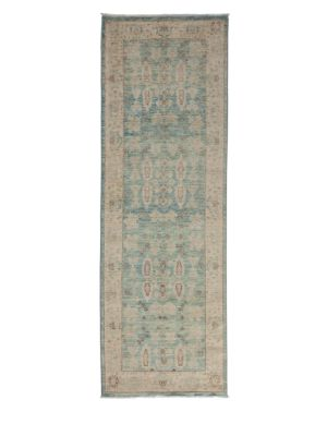 Oushak Collection Muted Floral Oriental Wool Rug