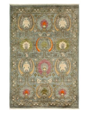 Suzani Collection Floral Oriental Rug