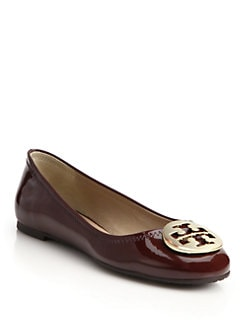 Tory Burch - Reva Patent Leather Ballet Flats