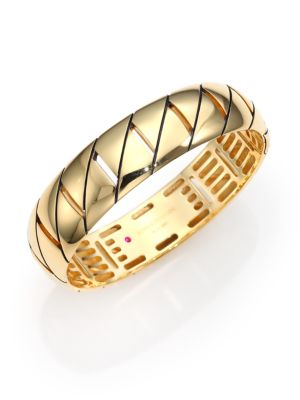 Appassionata 18K Yellow Gold Bangle Bracelet