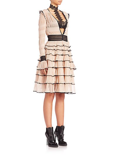 Tiered Ruffle Dress $3,799.68 AT vintagedancer.com