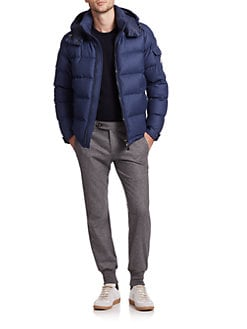 Moncler - Mont Genevre Quilted Down Jacket