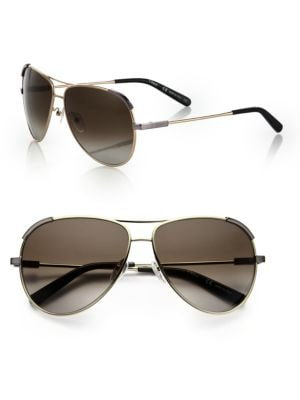 Eric 60MM Aviator Sunglasses