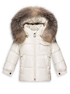 Moncler - Baby's K2 Fur-Trim Puffer Jacket