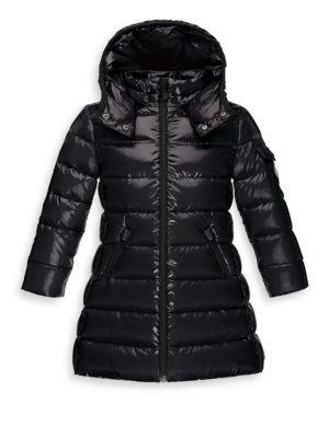 Girl's Moka Long Puffer Coat