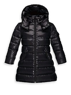 Moncler - Girl's Moka Long Puffer Coat