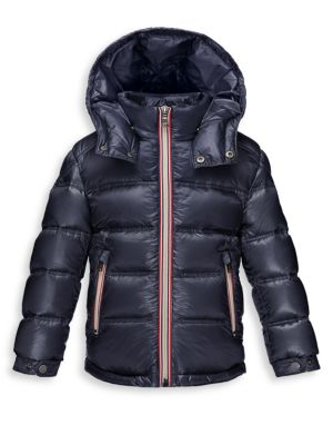 Boy's Gaston Shiny Puffer Coat
