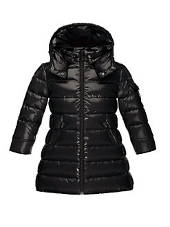 Moncler - Toddler's & Little Girl's Moka Long Puffer Coat