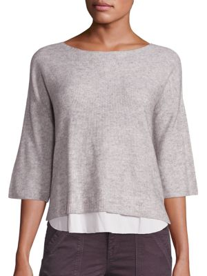 Symphorienne Wool/Cashmere Sweater