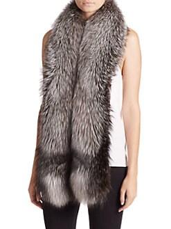 Adrienne Landau - Fox Fur Scarf