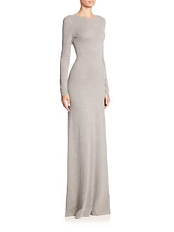 Ralph Lauren - Black Label Cashmere Gown